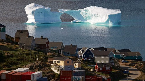 Greenland isn't in a rush to fight climate change because it's good for the country's economy
