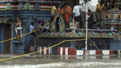 Photos: The scene in Chennai, the Indian city suffering its most devastating rains in 100 years