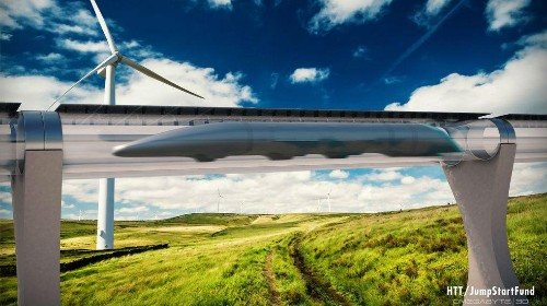The mythic Hyperloop takes an actual step toward becoming real