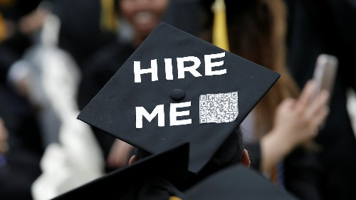 Where are new college grads going to find jobs?