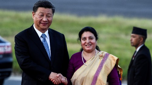 China's Xi Jinping arrives in Nepal bearing promises and pressure