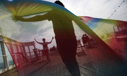 This summer, hundreds of China's young gay people took their parents on a sea voyage of reconciliation