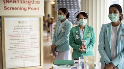 Dozens of people are quarantined in Bangkok to prevent the spread of the deadly MERS virus