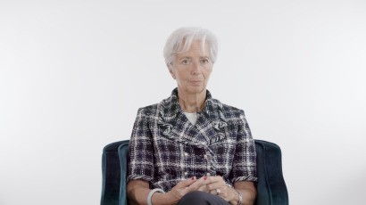 IMF chief: 'When it's bad, you call women to the rescue'