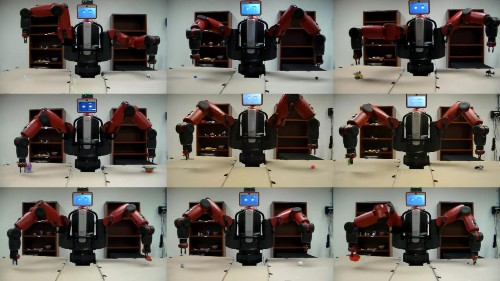 These robots can teach each other how to pick up anything