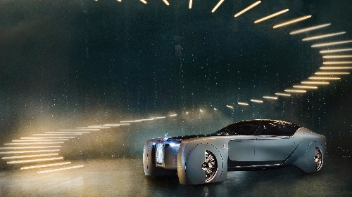 Rolls-Royce just unveiled the most amazingly ludicrous self-driving luxury vehicle