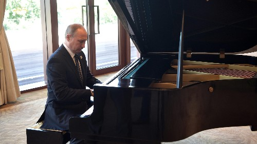 Vladimir Putin's piano playing stole the show at China's signature foreign policy event