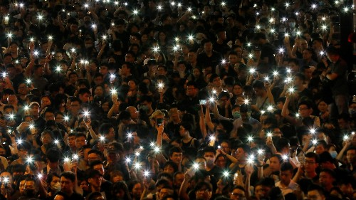 Hong Kong protestors are once again using mesh networks to preempt an internet shutdown