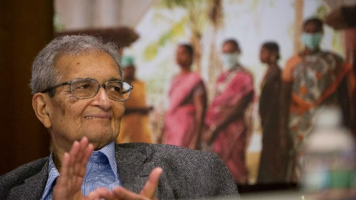 Amartya Sen: India can't become a global economic power with an uneducated, unhealthy workforce
