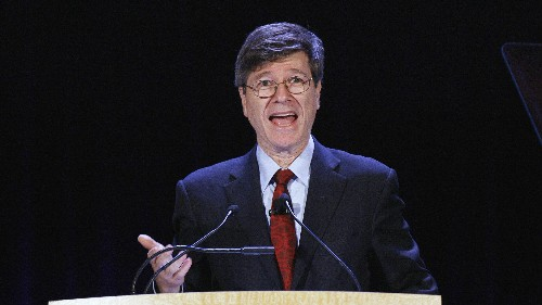"Jeffrey Sachs: Economics is ""horrendously misguided"" and obsessed with ""completely unimportant things"""