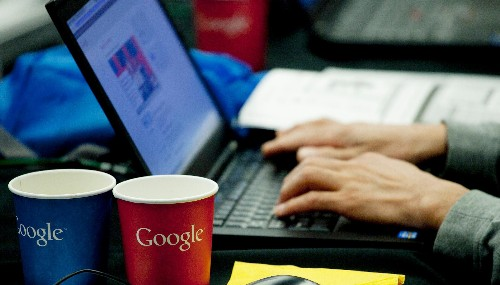 Use Google to look up weird coding terms? You could end up working there