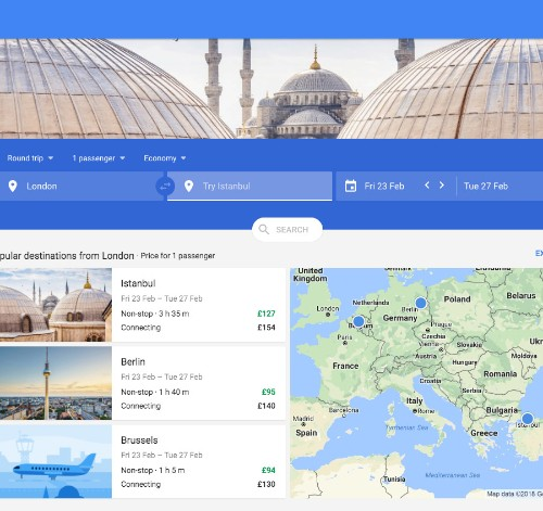 Google is becoming a serious competitor in the online travel space