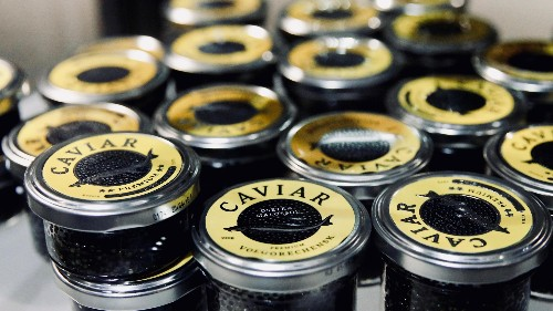 China is poised to become the world's caviar capital