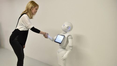 """Instead of asking, """"are robots becoming more human?"""" we need to ask """"are humans becoming more robotic?"""""""