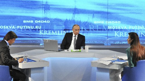 Milk, missiles, and macroeconomics: Highlights from Vladimir Putin's marathon call-in Q&A show