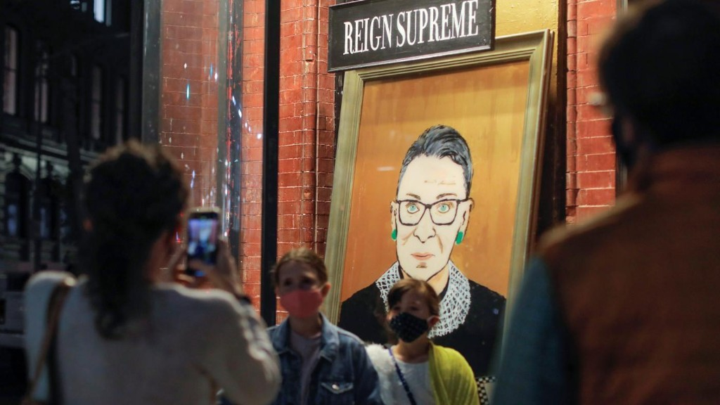 Ruth Bader Ginsburg's advice for living a life as full as hers