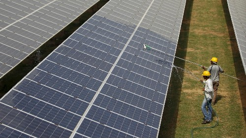 India is now a world leader in renewable energy