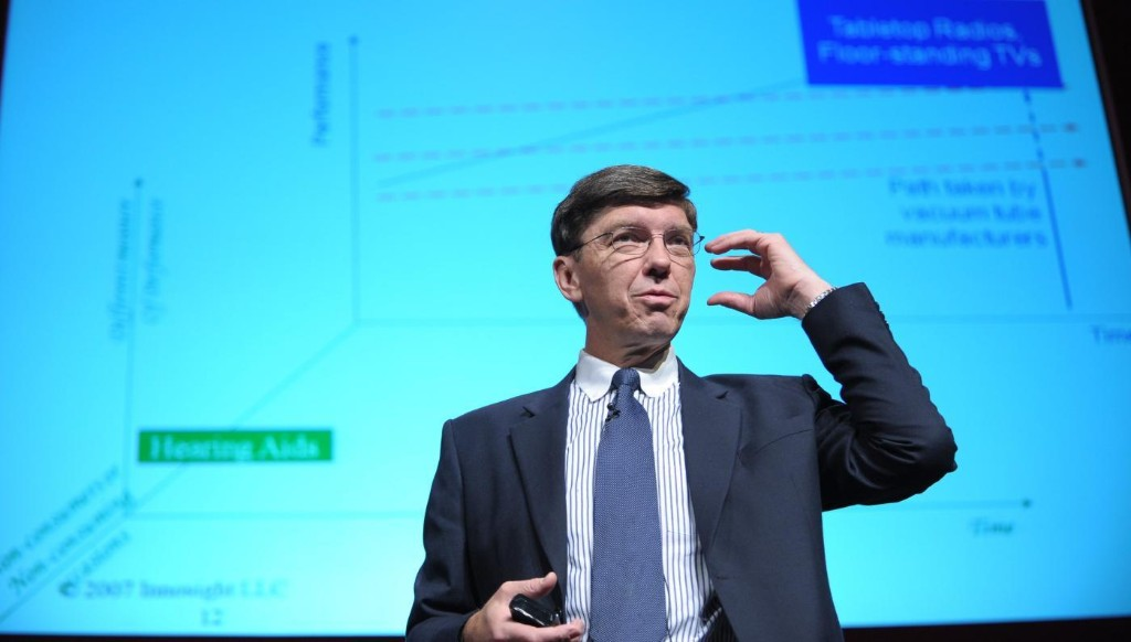 Innovation guru Clayton Christensen's new theory is meant to protect you from disruption