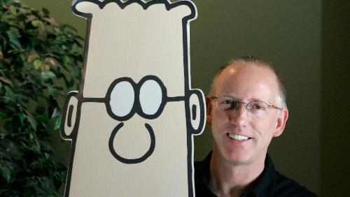 """Dilbert"" creator Scott Adams endorses Donald Trump in the most ""Dilbert"" way possible"