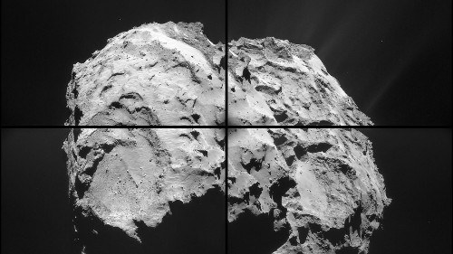 The Philae lander proves that comets are kind of like deep-fried ice cream