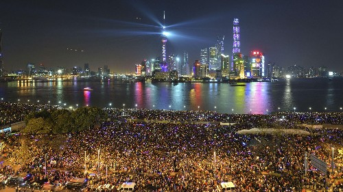 New Year's Eve has been cancelled for most of Shanghai