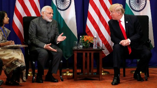 India is starting to fight back in Trump's global trade war