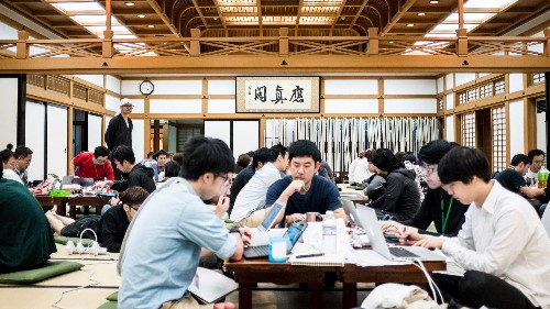 Why a 762-year-old Japanese temple was the perfect setting for a hackathon