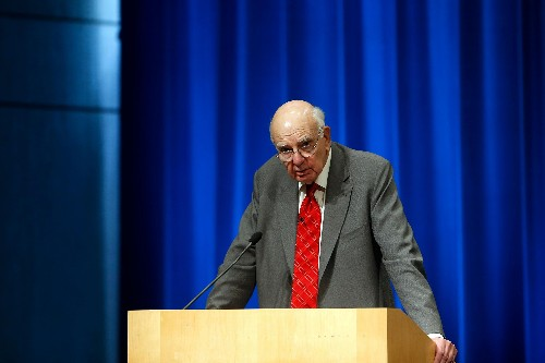 Former Federal Reserve chairman Paul Volcker's greatest legacy