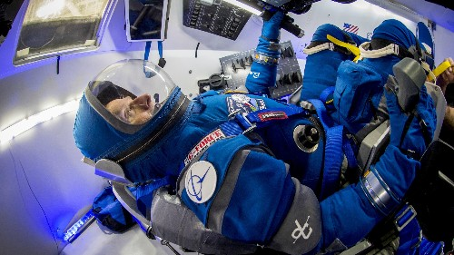 Astronauts will soon wear these new lightweight spacesuits—Reebok boots included