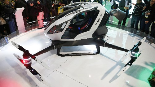 Dubai is set to fill its skies with these self-flying taxi drones later this year