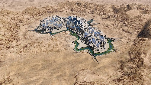 The future of Mars will be 3D-printed in the Mojave Desert