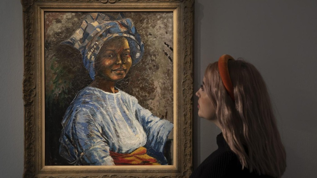 Sotheby's has had its biggest jump in bidders for African art, thanks to a stay home lockdown