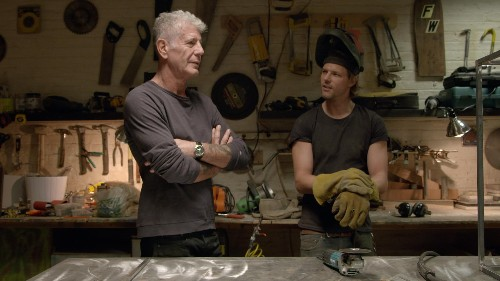 "Anthony Bourdain's other obsession is showcased in his web show, ""Raw Craft"""