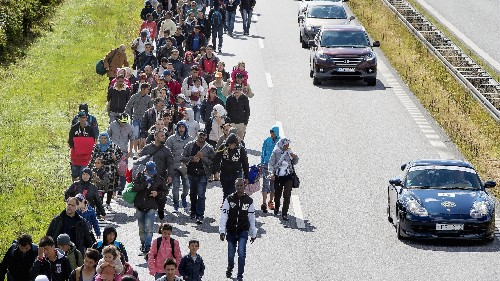 A new law would allow Danish police to seize refugees' valuables