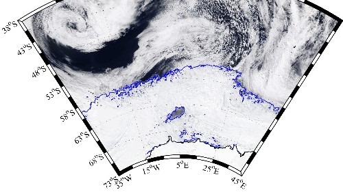 A mysterious hole larger than the Netherlands has opened in the middle of Antarctic ice