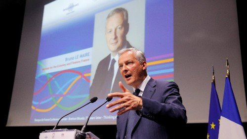 French finance minister says Facebook's Libra cannot become sovereign currency