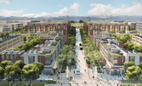 Panasonic begins work on Denver future smart city, Peña Station next