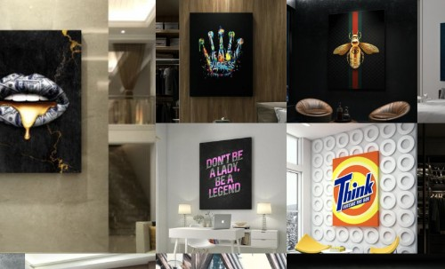 Inktuitive: Inspiring and Unique Wall Art For Your Company or Home Office