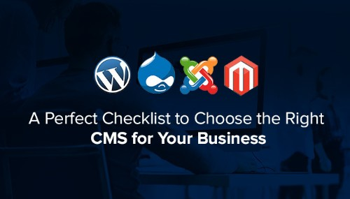 A Perfect Checklist to Choose the Right CMS for Your Business