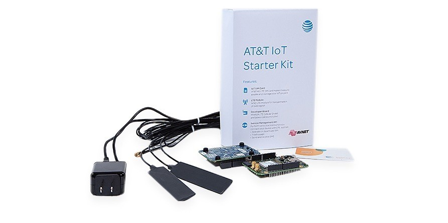 AT&T launches IoT starter kits for AWS and Raspberry Pi