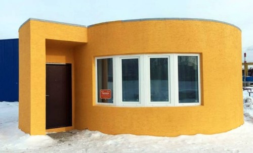Russian start-up 3D prints houses in 24 hours, raises $6 million for expansion