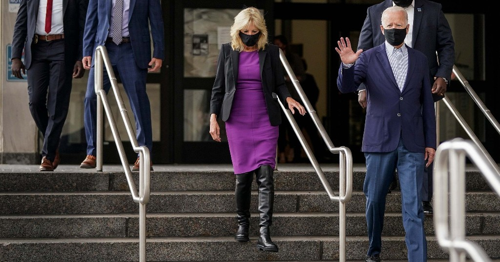 Search For Jill Biden's Vote Boots Is Up 488%