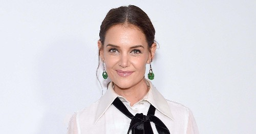 Katie Holmes' New Red Carpet Hair Look Is Soft Yet Edgy — Right On Trend
