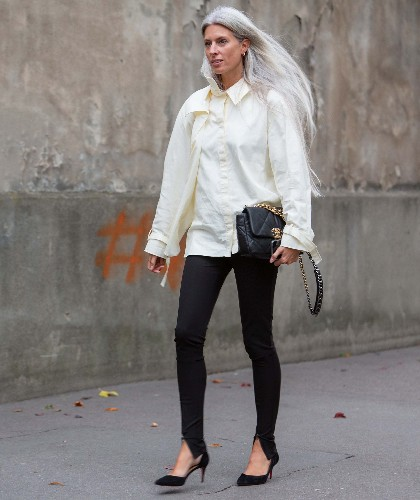 """14 Fall-Ready Black-Legging Outfit Ideas, From Zero To """"Fashion"""""""