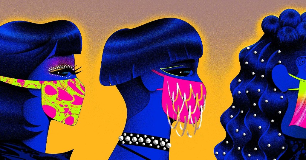 When Fashion Met Face Masks