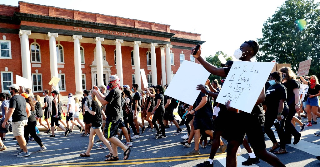 Want To Defund The Police? Start On Campus