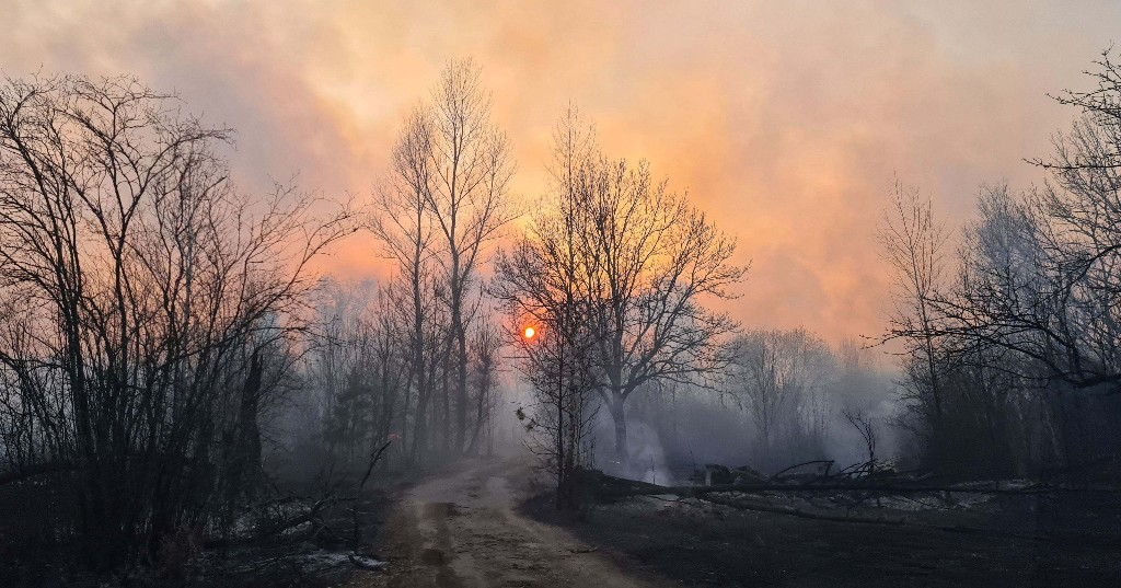 A Forest Fire Near Chernobyl Is Causing Radiation Levels To Spike