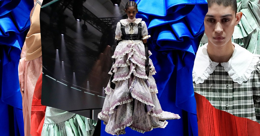 Gucci Just Turned The Backstage Area Into The Catwalk