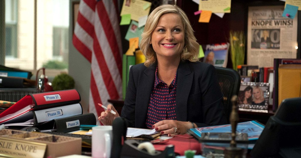 """""""Parks Rec"""" Is The Ultimate Comfort Quarantine Binge So Amy Poehler Is Introducing Her Kids To It"""