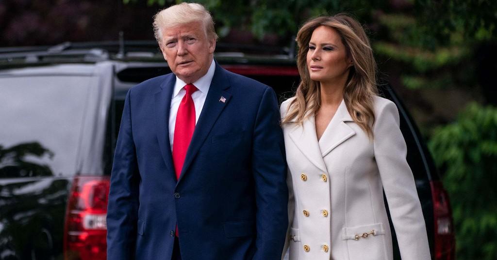 Melania Trump Was Seen — Wait For It — Wearing A Mask In Public